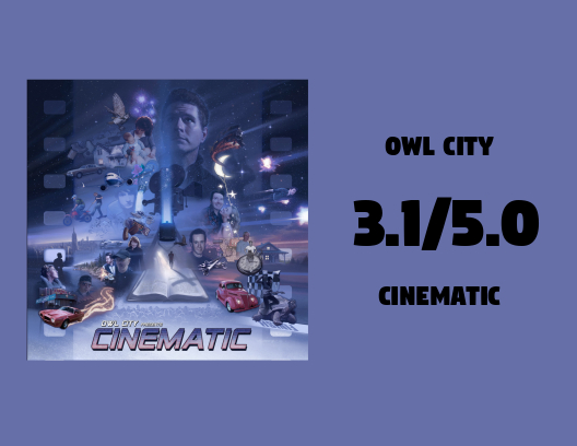 OWL CITY- CINEMATIC [ALBUM REVIEW]* FIRST LISTEN! – ROCKIN
